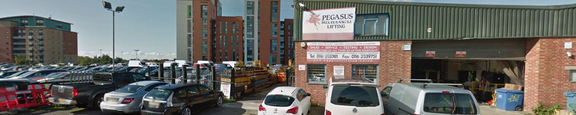 Contact Pegasus Mechanical Lifting